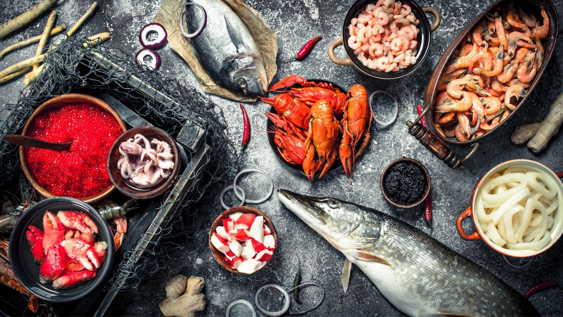 Délices de la mer : nos produits de la mer